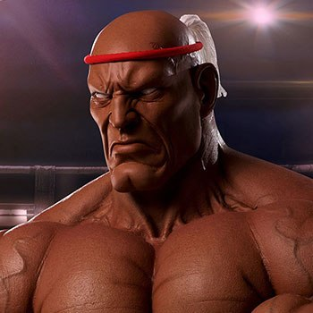 Sagat Victory Collectible