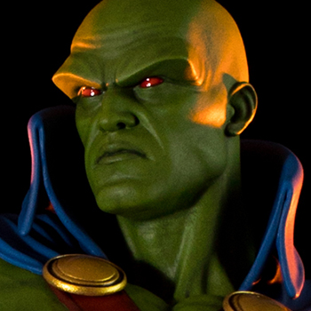 Super Powers Martian Manhunter Collectible