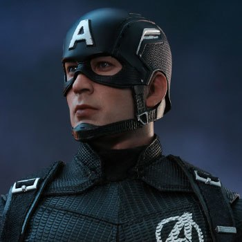 Hot Toys Captain America Concept Art Version Collectible