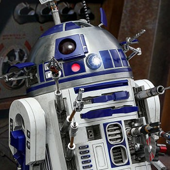 Hot Toys R2-D2 Deluxe Version Collectible