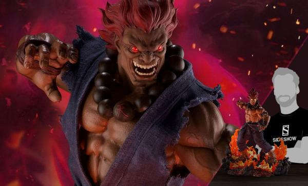 Akuma 10 Year Ultimate Statue