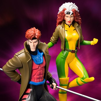 Gambit and Rogue Two-Pack Set Collectible