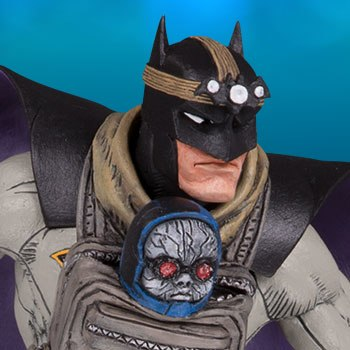 Batman with Darkseid Baby Collectible