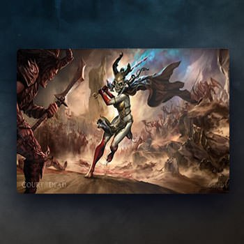 Valkyrie Play Mat Collectible