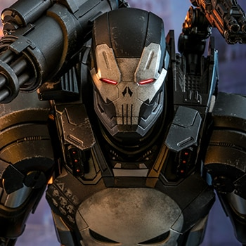 Hot Toys The Punisher War Machine Armor Collectible