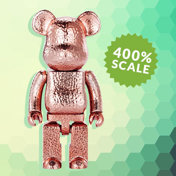 Be@rbrick Royal Selangor (Special Edition Pink) 400% Collectible
