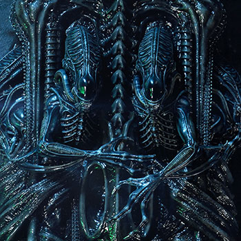 Aliens 3D Wall Art Collectible