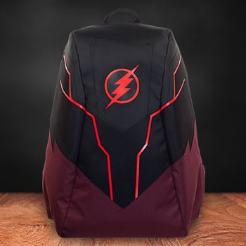 The Flash Illuminated Powered Backpack Collectible