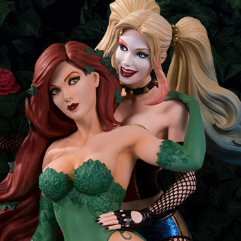 Harley Quinn & Poison Ivy Collectible