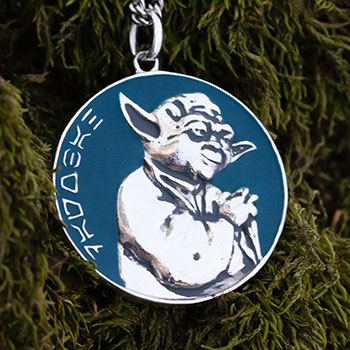Dagobah Planetary Medallion Collectible