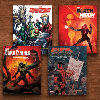 Marvel Comics Art Books Collection Collectible