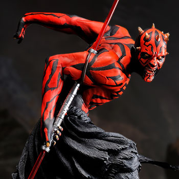 Darth Maul (Japanese Ukiyo-e Style) Collectible