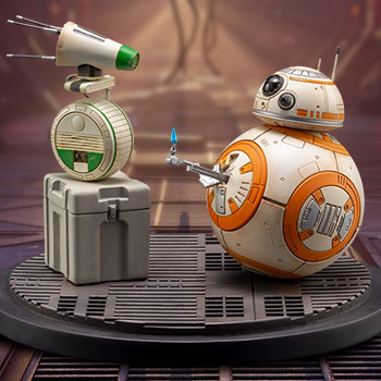 D-0 and BB-8 Collectible
