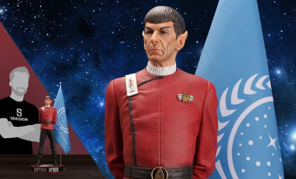 Leonard Nimoy as Captain Spock Statue