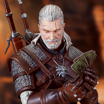 Geralt Playing Gwent Collectible