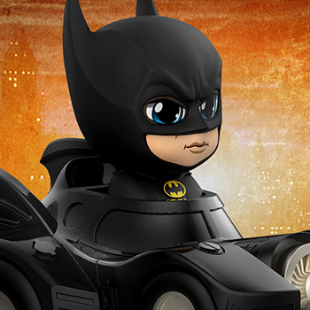 Hot Toys Batman with Batmobile Collectible