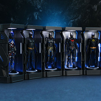 Hot Toys Batman: Arkham Knight Armory Miniature Collectible
