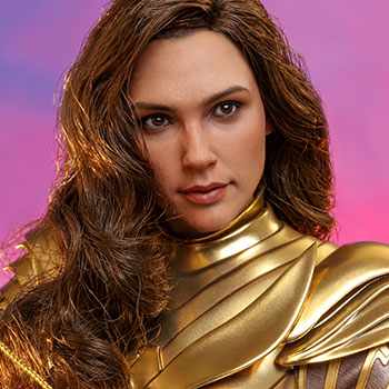 Hot Toys Golden Armor Wonder Woman Collectible
