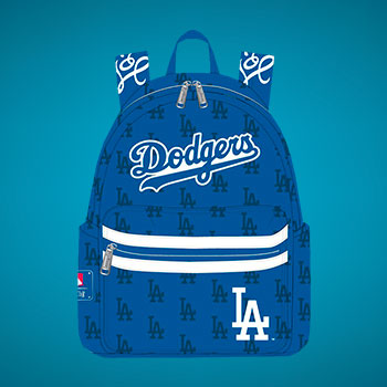 Dodgers Blue AOP Mini Backpack Collectible