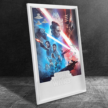 Star Wars: The Rise of Skywalker Silver Foil Collectible