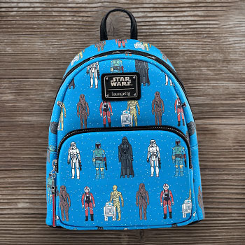 Star Wars Action Figure Mini Backpack Collectible