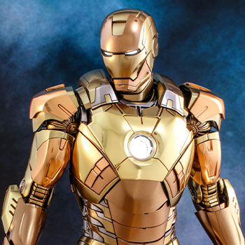 Hot Toys Iron Man Mark XXI (Midas) Collectible