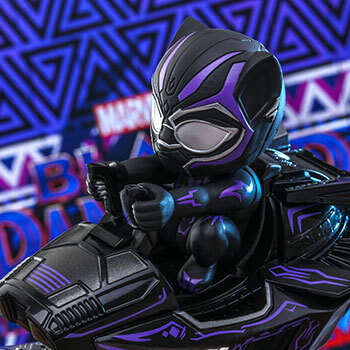 Hot Toys Black Panther (Special Color Version) Collectible