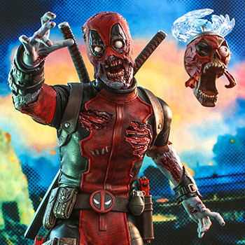 Hot Toys Zombie Deadpool Collectible
