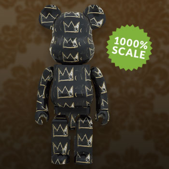 Be@rbrick Jean Michel-Basquiat #8 1000% Collectible