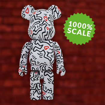 Be@rbrick Keith Haring #8 1000% Collectible