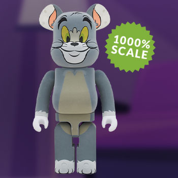 Be@rbrick Tom Flocky 1000% Collectible