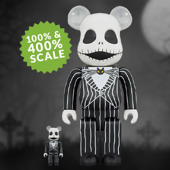 Be@rbrick Jack Skellington (2021) 100% & 400% Collectible