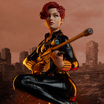 Black Widow Statue