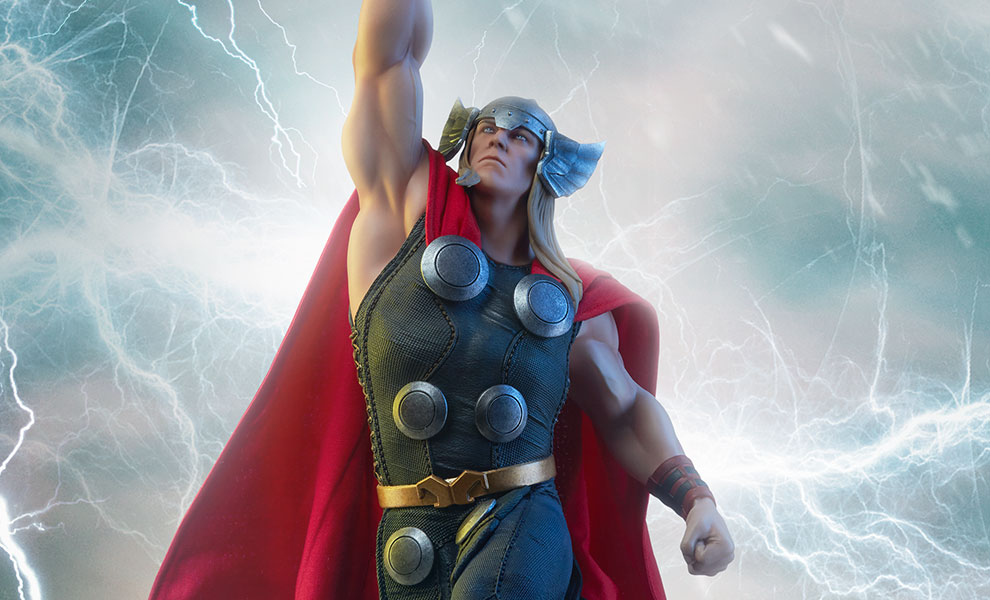 d453dda44b24a2 Marvel Thor Statue by Sideshow Collectibles