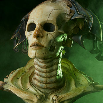 Xiall The Resolve of Bone Legendary Scale Bust