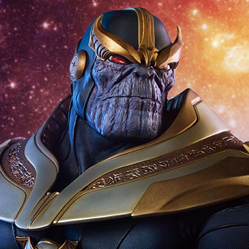 Thanos on Throne Maquette
