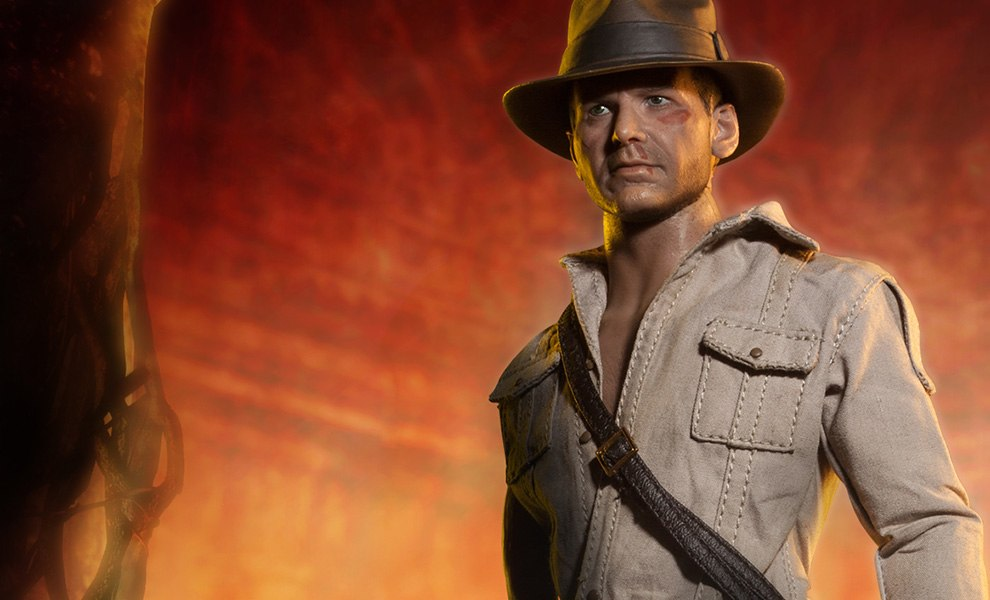 bc1cc77d6a392 Indiana Jones Indiana Jones - Temple of Doom Sixth Scale Fig | Sideshow  Collectibles