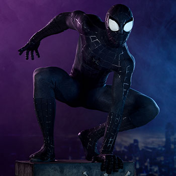 Spider-Man (Black Suit Variant) Legendary Scale™ Figure