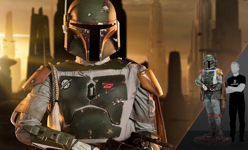 Boba Fett Life Size Figure Sideshow Collectibles