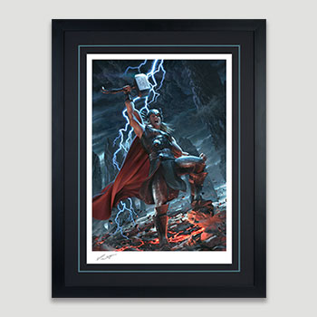 Thor: Breaker of Brimstone Art Print