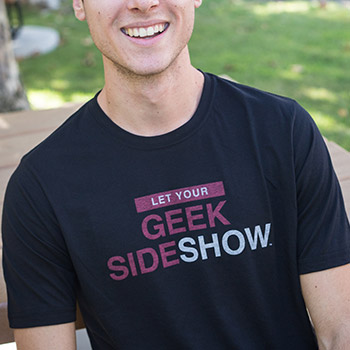 Let Your Geek Sideshow T-Shirt Apparel