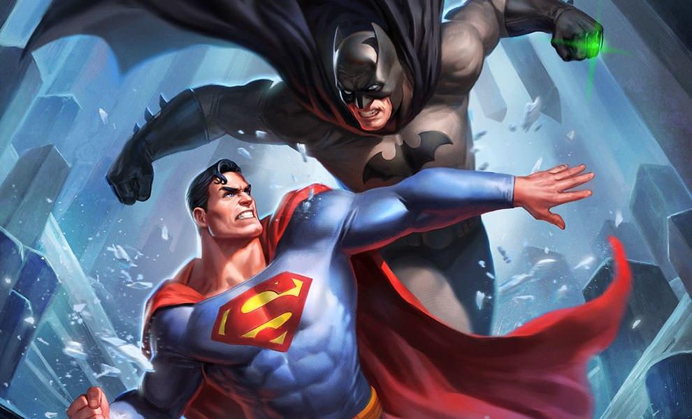 DC Comics Batman vs Superman Art Print by Sideshow ...