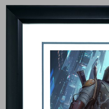 Boba Fett Force to Be Reckoned With Art Print