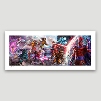 X-Men: A Legend Reborn Art Print