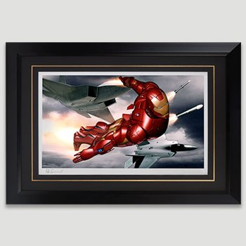 Iron Man Mark III Art Print
