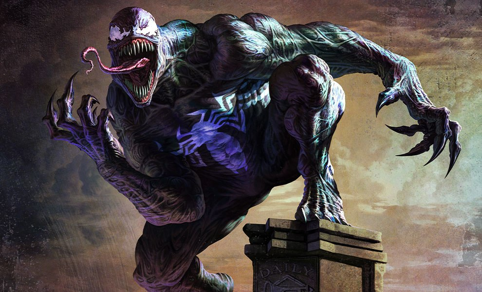 Image result for venom marvel paintings