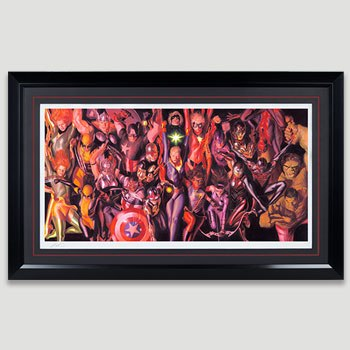 Marvel Generations Art Print
