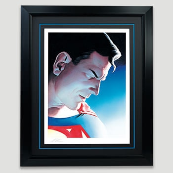 Superman Peace on Earth Art Print