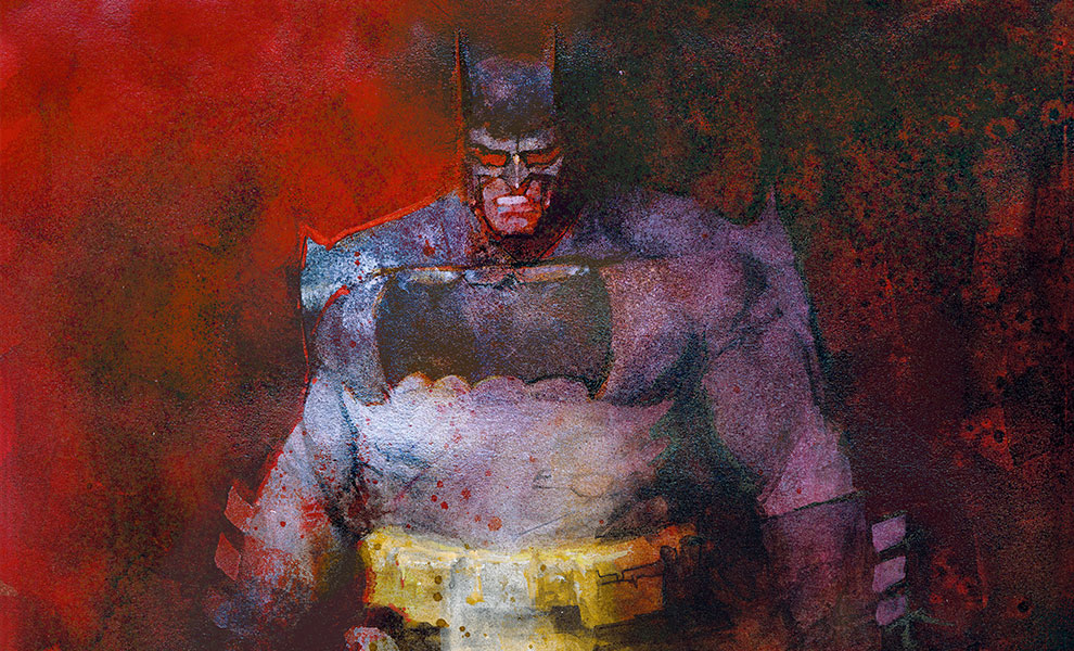 The Dark Knight Returns: The Last Crusade Art Print