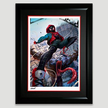 Ultimate Spider-Man Miles Morales Art Print